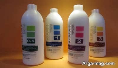 معرفی انواع اکسیدان رنگ مو