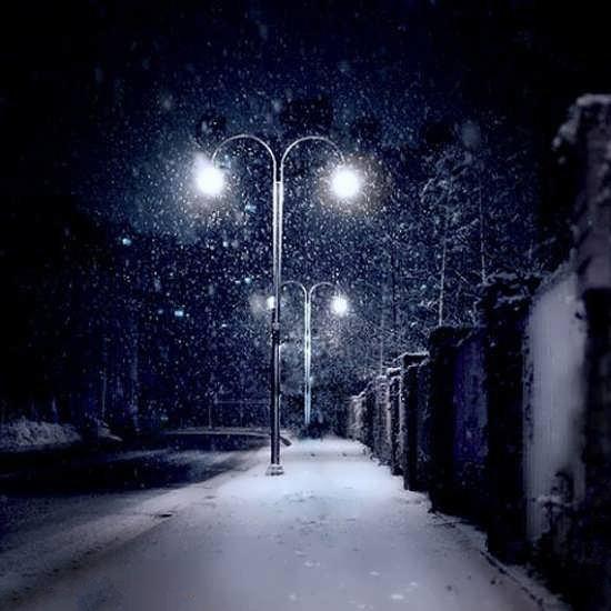 عکس طبیعت شب