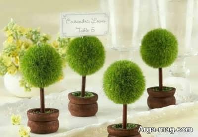 سبزه عید به شکل درخت