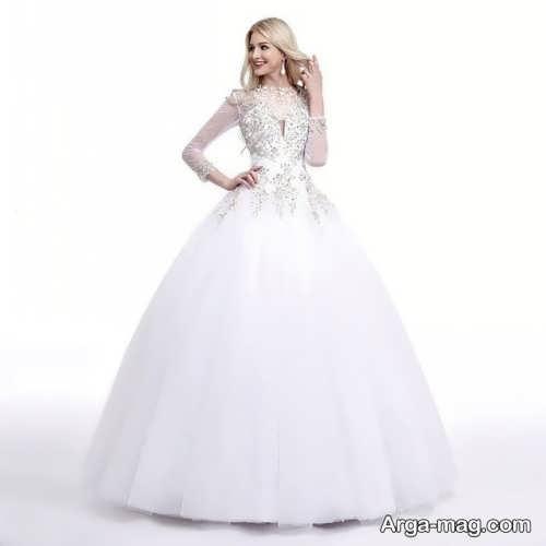 مدل پیراهن عروس جدید و زیبا