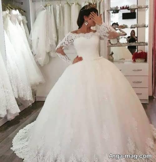 مدل پیراهن عروس زیبا و خاص