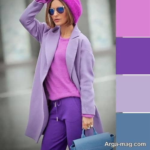 ست رنگ لباس