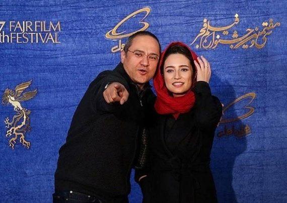 سلفی جذاب رامبد جوان و همسرش