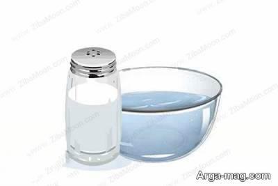 استفاده از آب نمک برای از بین بردن پف زیرچشم