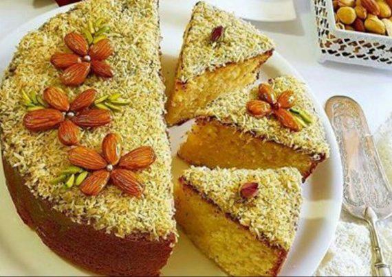 طرز تهیه کیک شنی