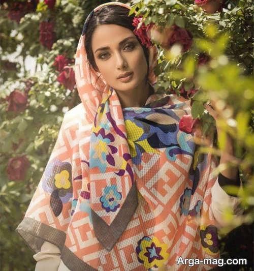 روسری زیبا و طرح دار زنانه