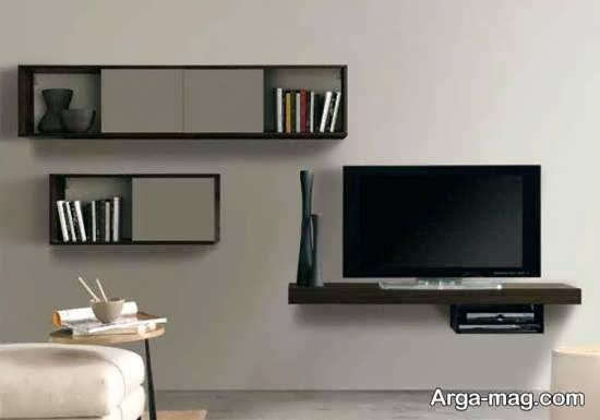 شلف مدرن دیواری تلویزیون