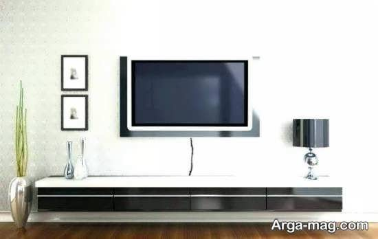 شلف دیواری شیک تلویزیون
