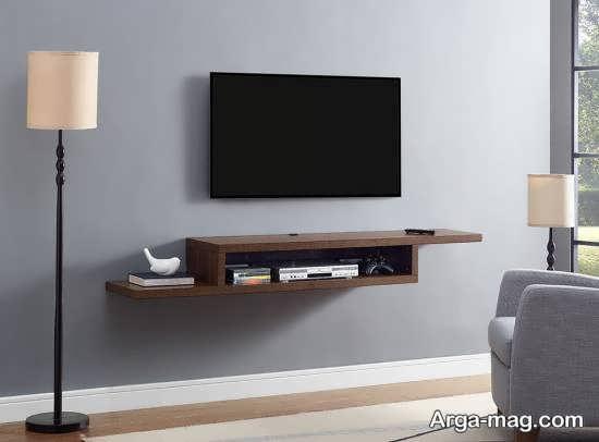 شلف دیواری زیر تلویزیون