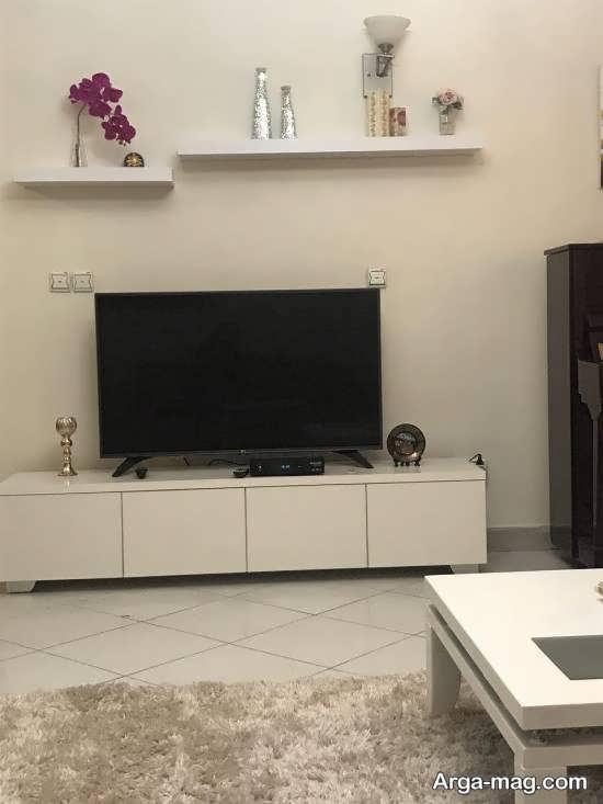 شلف دیواری تلویزیون