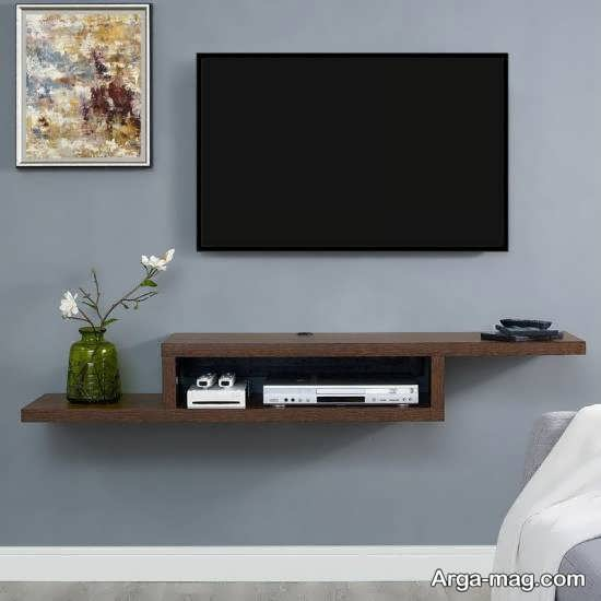 شلف چوبی و دیواری تلویزیون