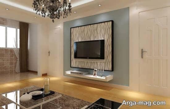 میز و قفسه دیواری تلویزیون