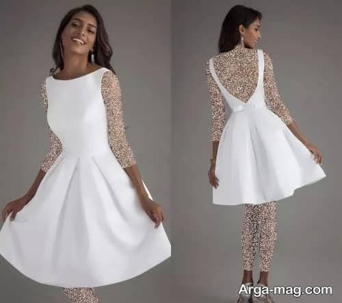 مدل پیراهن عروس ساده