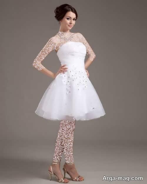 مدل پیراهن عروس شیک و جذاب