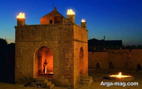 جاذبه های تاریخی کشور آذربایجان