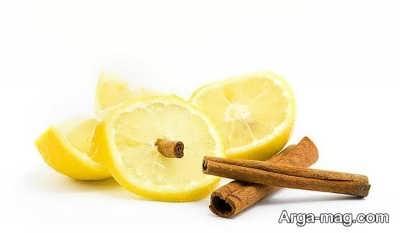 لیمو و دارچین