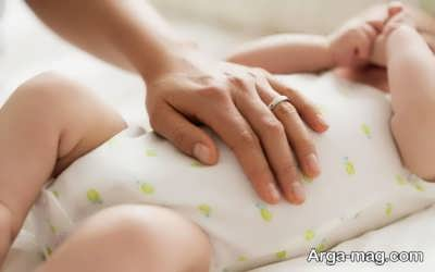 بهبود نفخ نوزاد