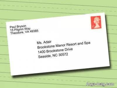 در زبان انگلیسی چگونه آدرس را بنویسیم؟