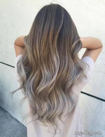 روشی برای رنگ کردن مو