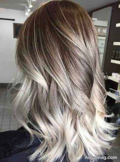 هایلایت و رنگ کردن مو