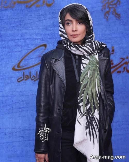 پوشش لیلا زارع در فجر 97