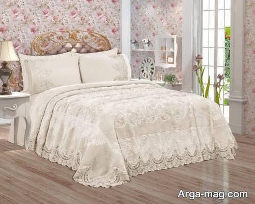 روکش زیبا برای تخت خواب