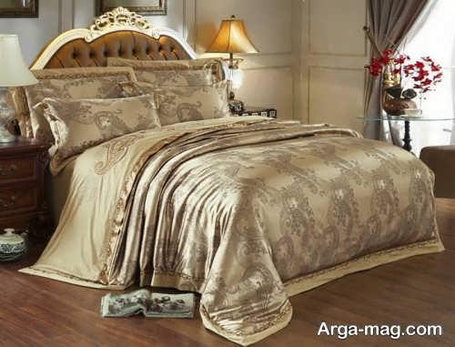 روکش حاشیه دار تخت خواب