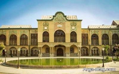 عمارت زیبای مسعودیه