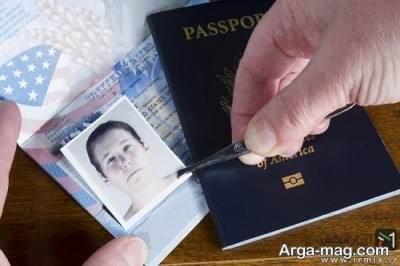 تشخیص پاسپورت جعلی