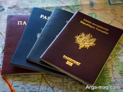 تشخیص پاسپورت اصل از جعلی