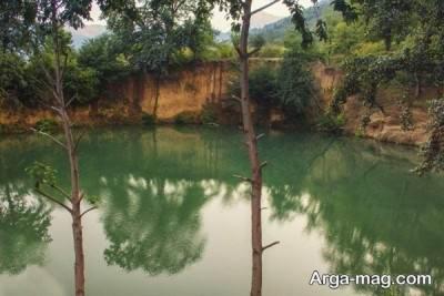 چشمه زیبای گل رامیان