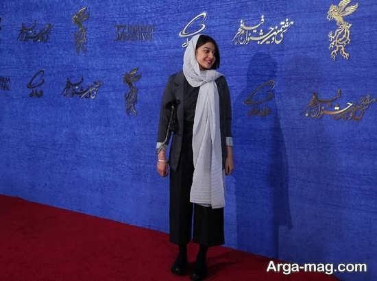 شلوار دامنی خانم بازیگر در جشنواره فجر+عکس