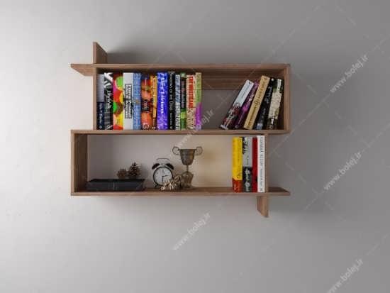 مدل کتابخانه ای شلف دیواری