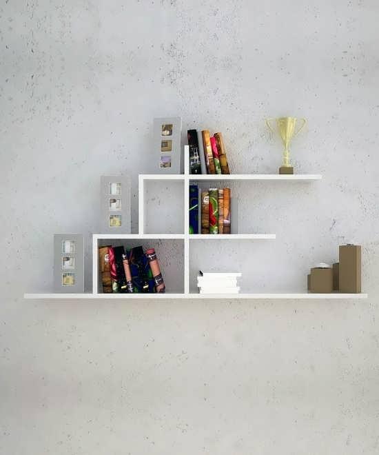 دیزاین خاص شلف دیواری