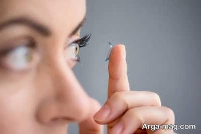 استفاده از لنز برای درمان استرابیسم