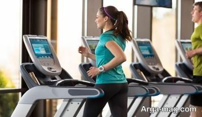 برنامه ورزشی با تردمیل