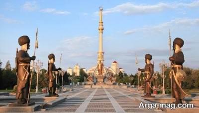 سفر به مناطق ترکمنستان