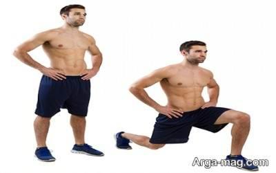 حرکات مبتدی ورزش