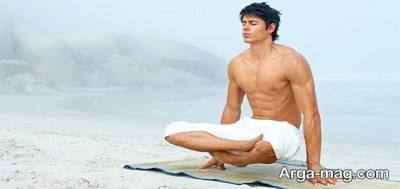 تاثیر یوگا در استرس