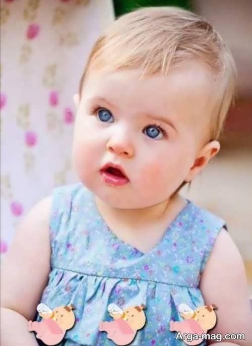 مدل موی دخترانه نوزادی