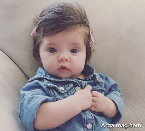 مدل مو بلند نوزادی