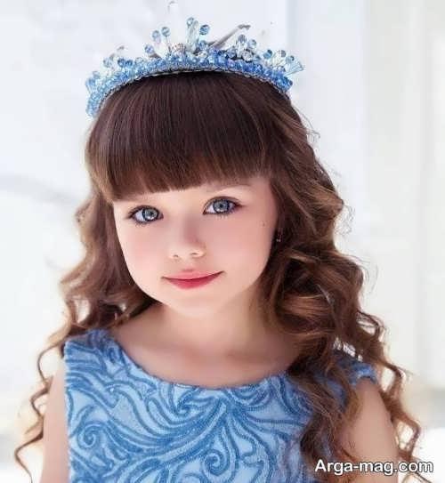مدل موی نوزاد دختر