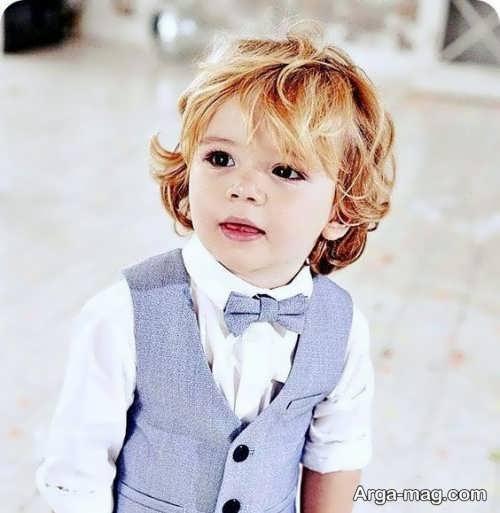 مدل موی کودک پسر