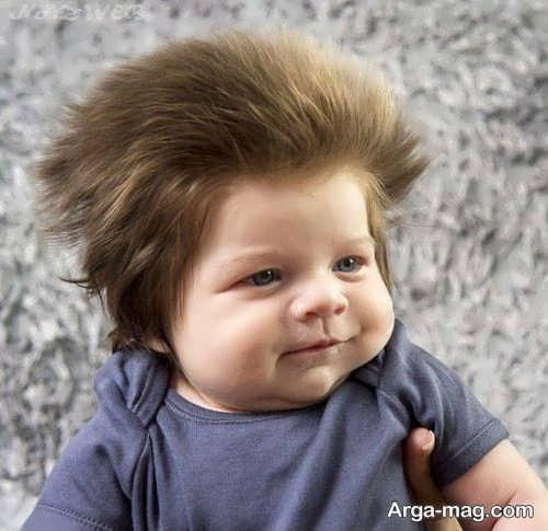 مدل موی کودک جذاب