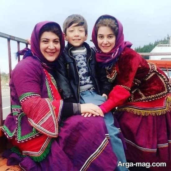 ریما رامین فر در کنار الناز حبیبی
