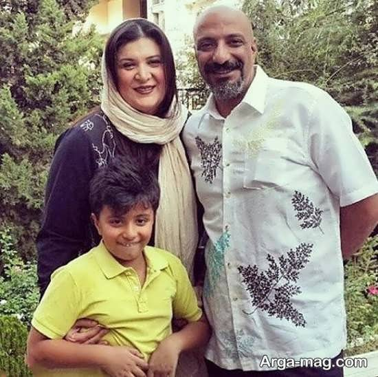 ریما رامین در کنار همسرش امیر جعفری