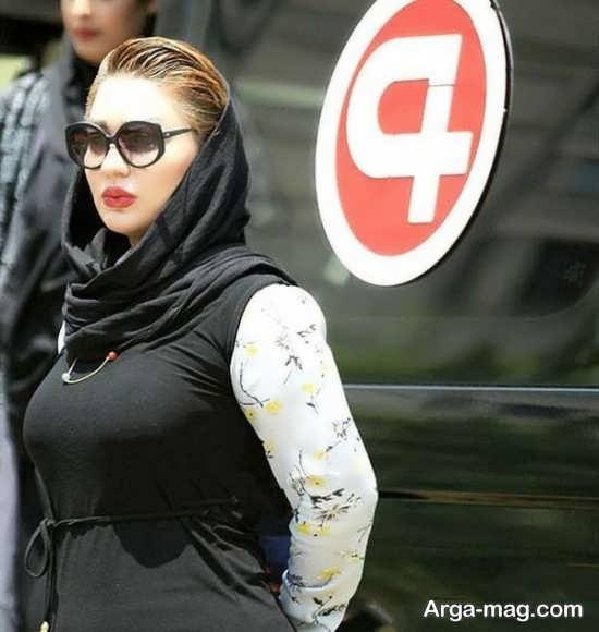 تصویری از شقایق دلشاد مدل ایرانی