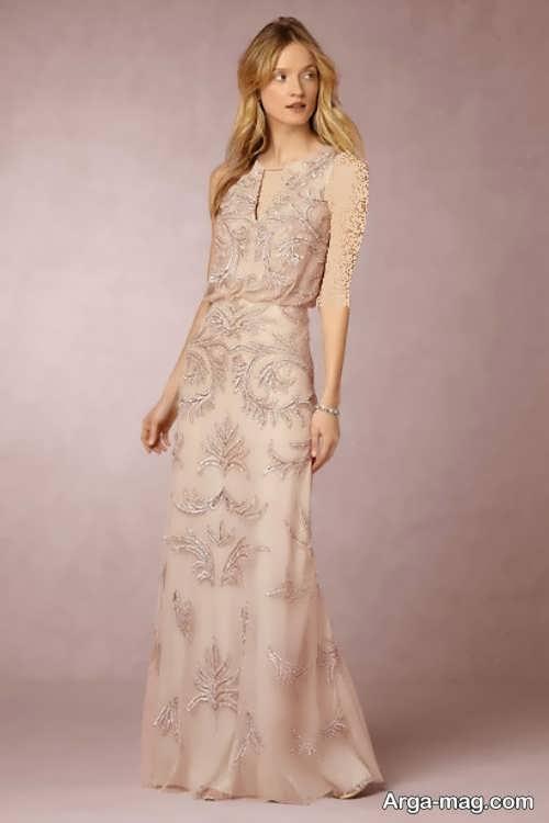 مدل پیراهن عروس فرمالیته و زیبا