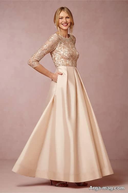 مدل پیراهن عروس بلند
