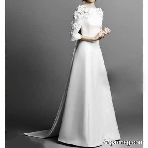 لباس عروس سفید و بلند